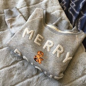 """🌼2/$35 American Eagle """"Merry and Bright"""" Sweater"""